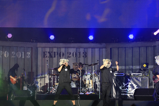 氣志團万博2013 MAN WITH A MISSION